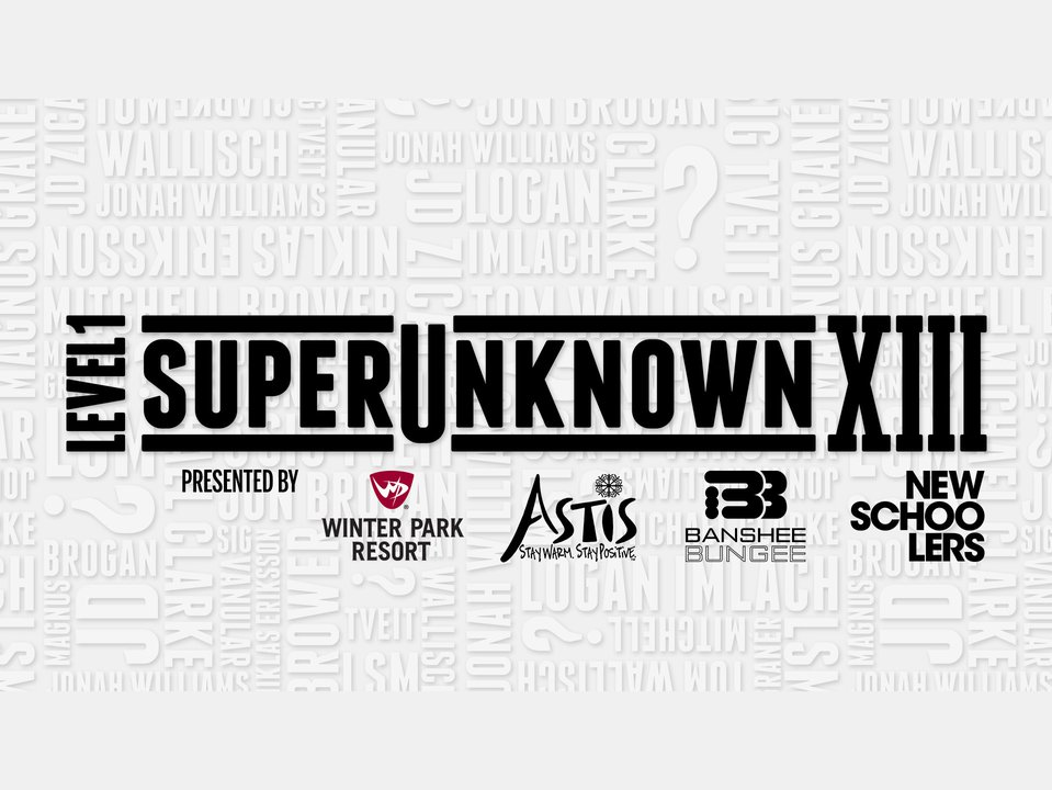 Newschoolers Presents Level 1 Superunknown XIII