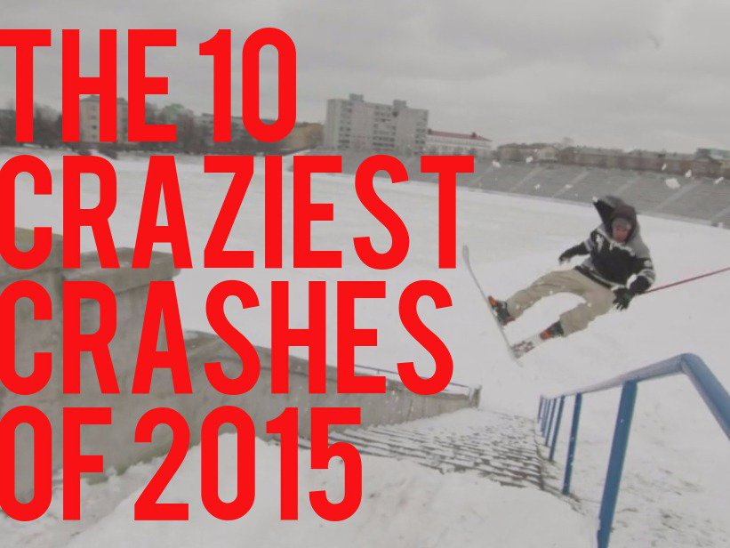 10 Craziest Crashes Of 2015