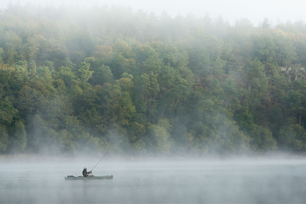 """How """"Fly Fishing"""" when it happens with fog. ??PackTwo.com"""