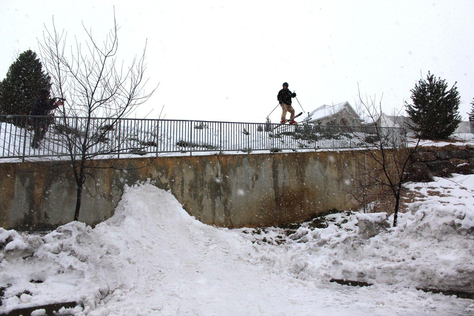 Snowy Day Urban