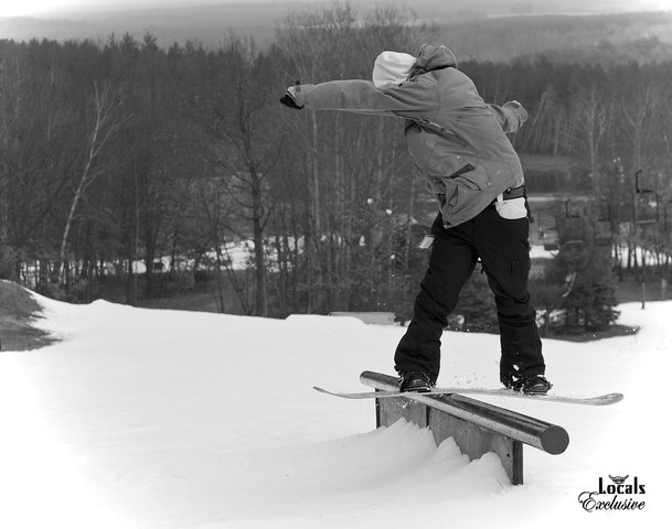 Stone with the front board
