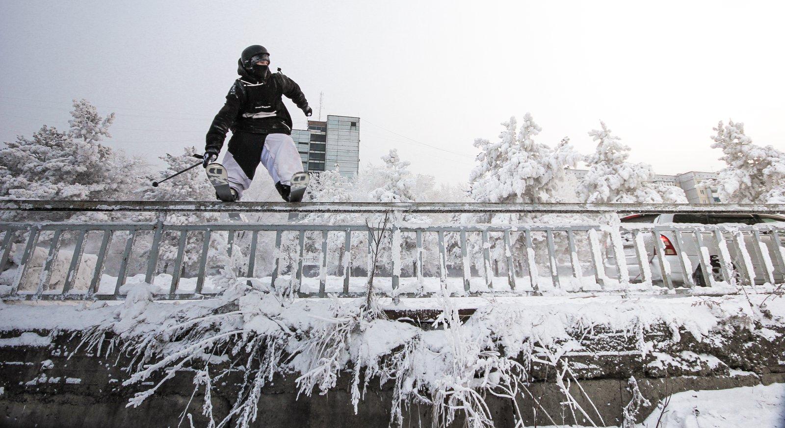 Russian winter!