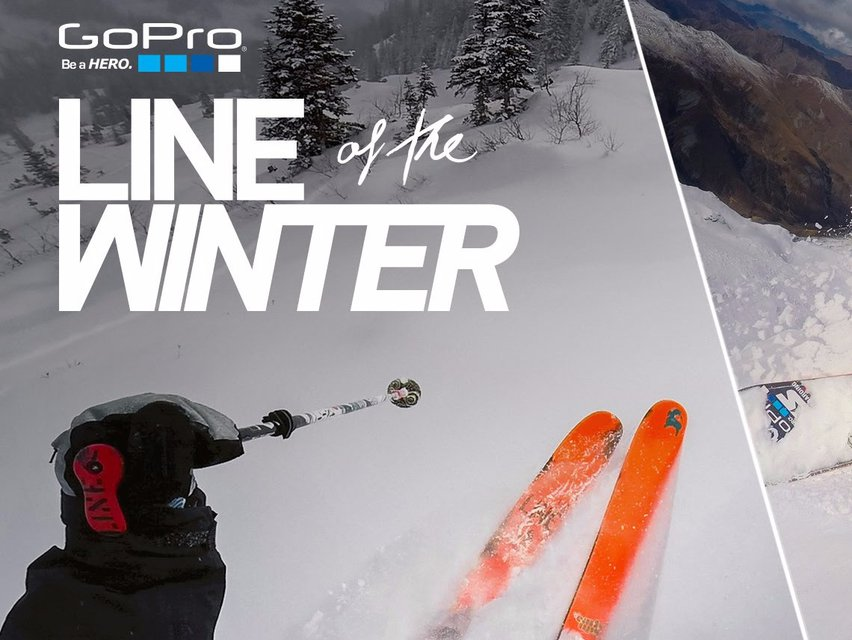 GoPro Line of the Winter 2016