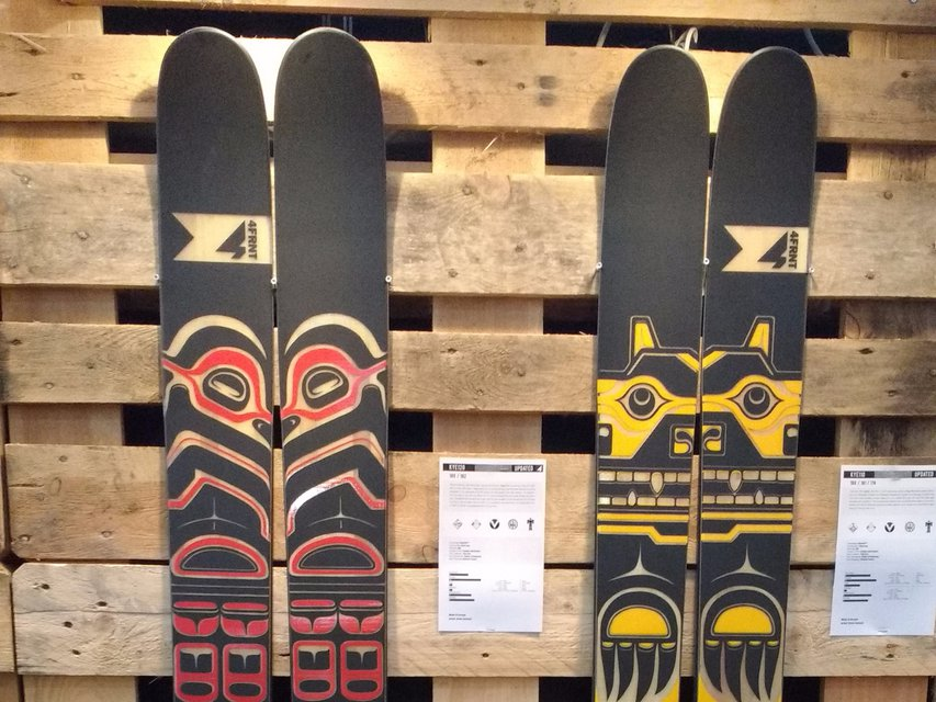 4FRNT Skis 2016-17