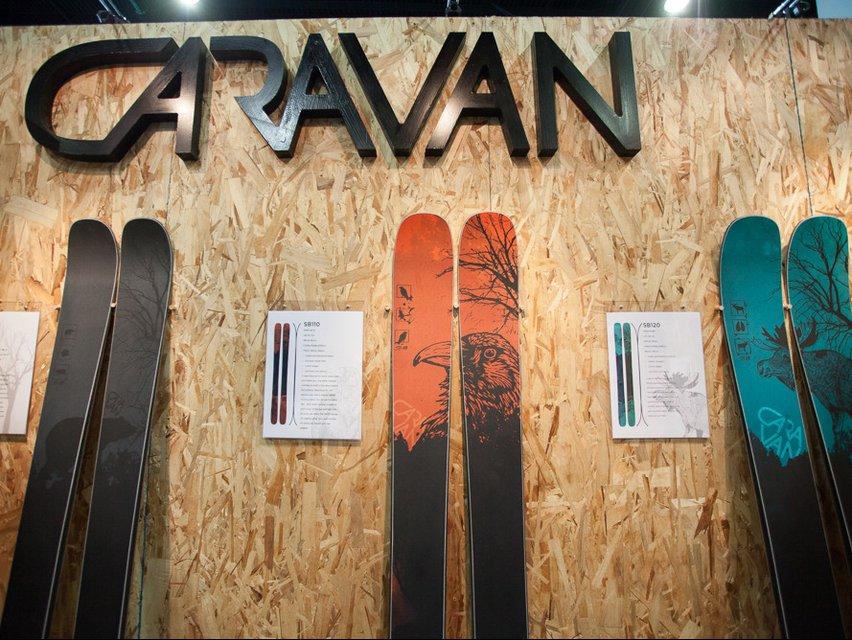SIA: Caravan Skis 2016-2017