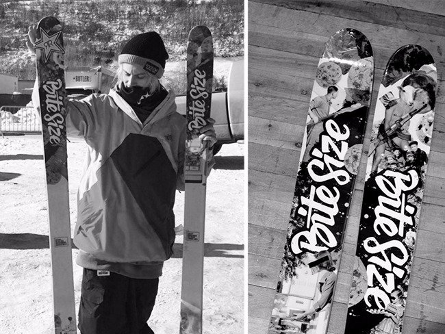 Marketing agency Bite Size Entertainment to support X-Games skier Alex Bellemare with custom pro model ski