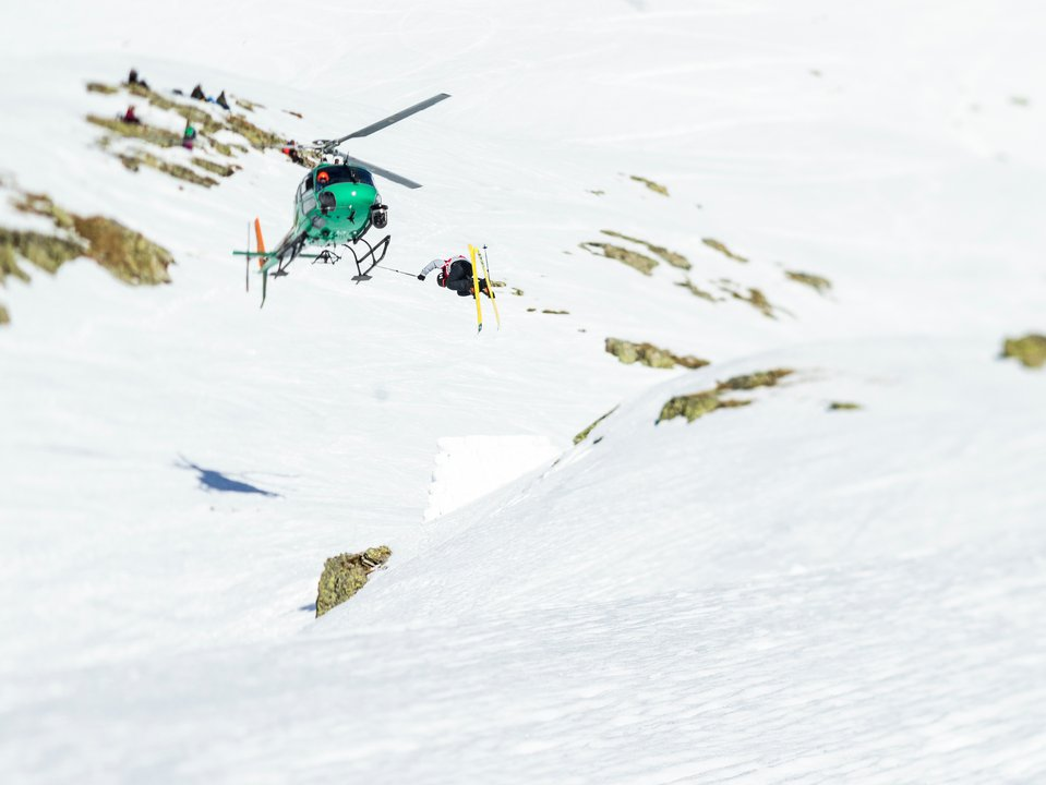 Skiers Cup Day 2 - Backcountry Slopestyle