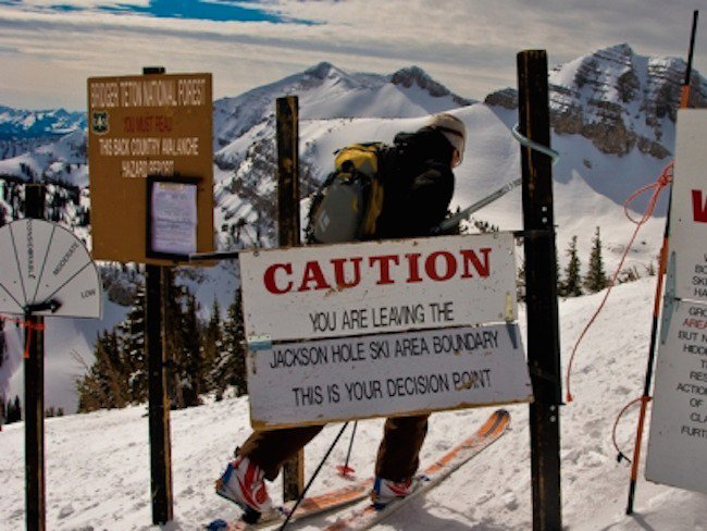 Three Fall Over 200ft Cliff in Jackson Hole Sidecountry