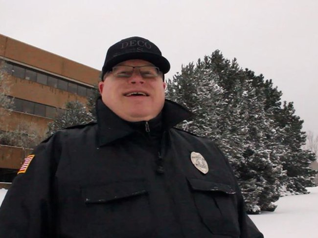 Best Security Guard EVER!!!?