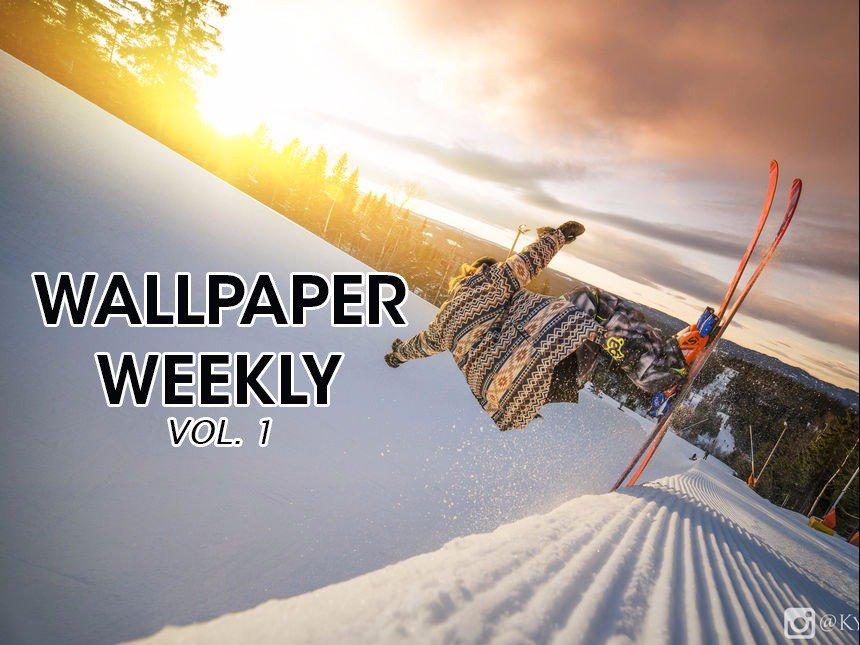 Wallpapers Weekly - Volume 1