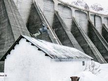 Jibbing under the dam
