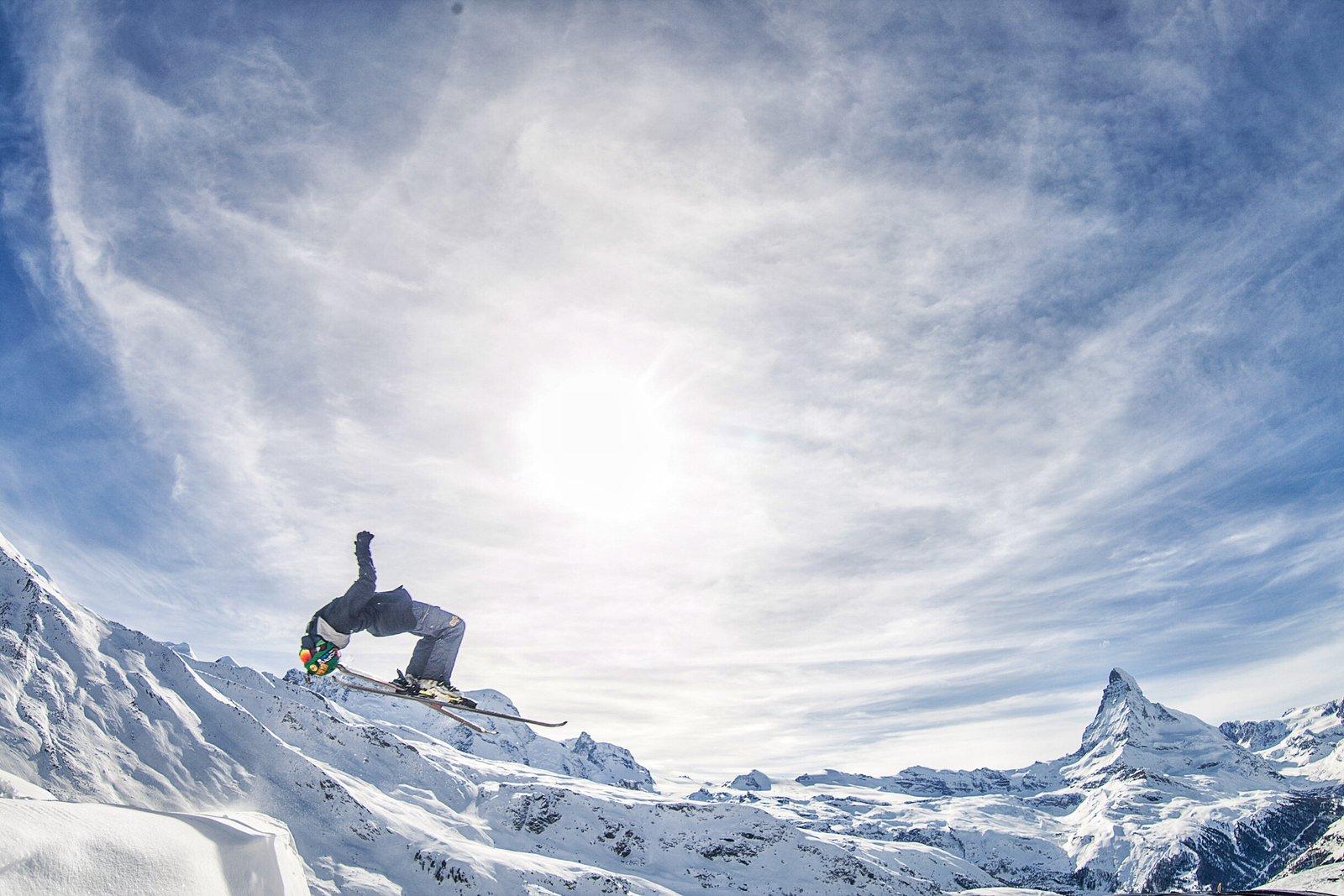 Zermatt Backflip