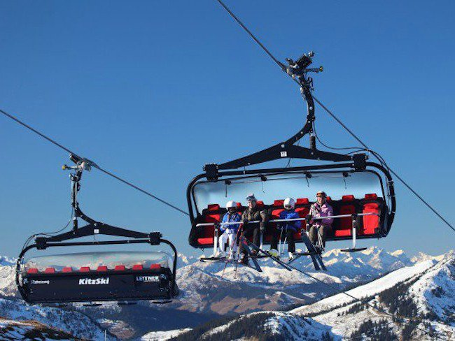 World's Fanciest Chairlift Has Heated Seats