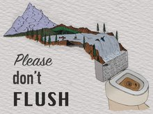 Please, Don't Flush.