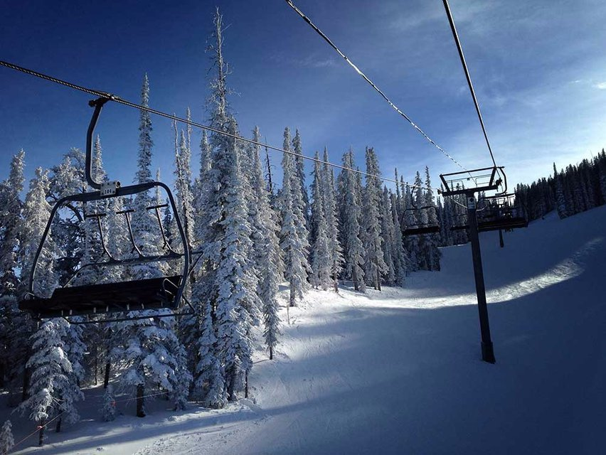 Skier Who Pushed Snowboarder Off Chairlift Arrested