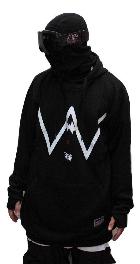 Powderstore X Ehoto Design collaboration hoodie