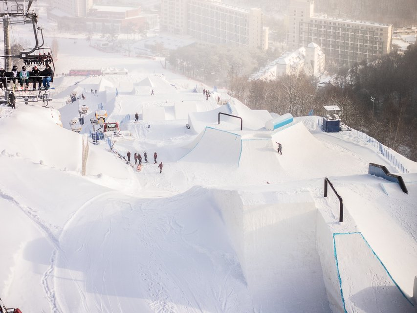 The Future Of Slopestyle: 2018 Olympic Course Test Event