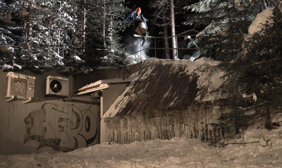 Antti sendin' it