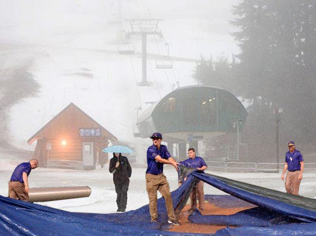 East Coast Winter Rained Out: Doubleheader Rescheduled for Next Year- Radical Radish