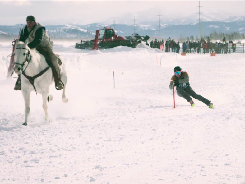 Jackson Hole Brings Back Skijoring