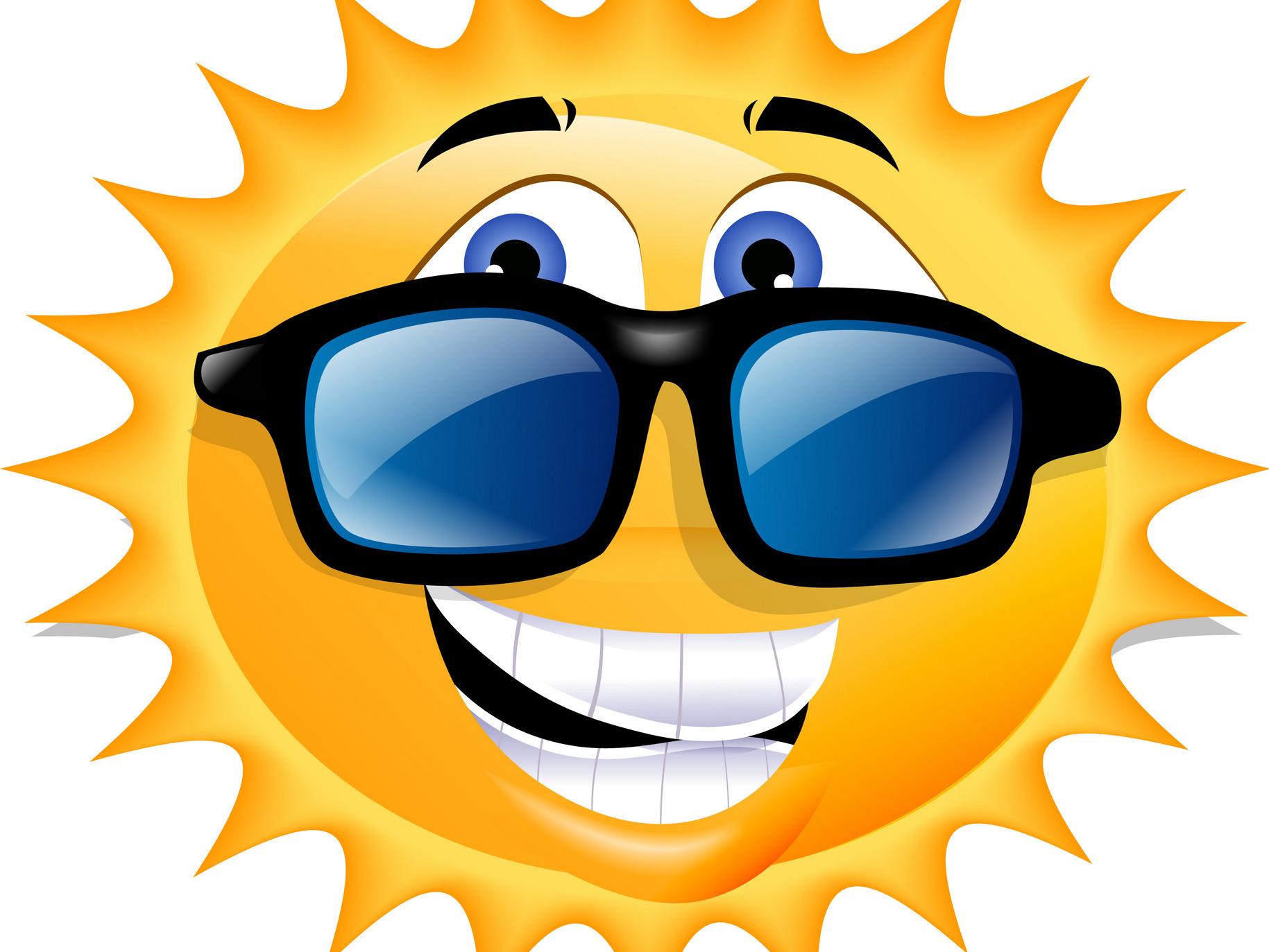 Картинка шуточная солнце