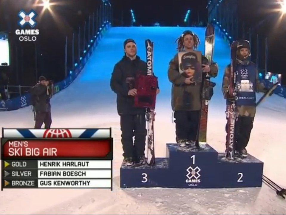 X Games Oslo Men's Big Air Results