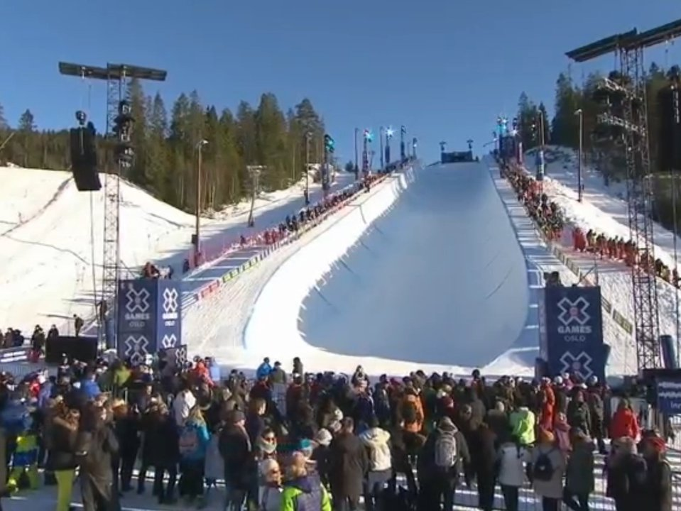 X Games Oslo Halfpipe Qualifiers
