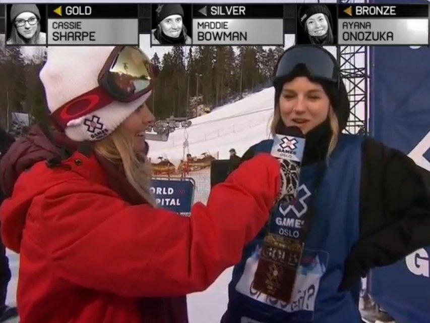 X Games Oslo Women's Halfpipe Results
