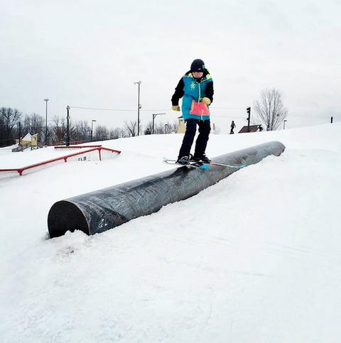 Rail Slide the Tube