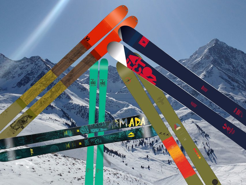 Tested : 5 Of The Hottest 2017 Skis