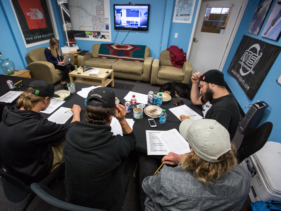 Big Air results are in for The North Face Park and Pipe Open Series