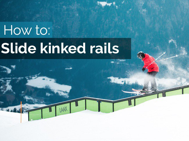 How to slide kinked rails on skis - A european freeski open special