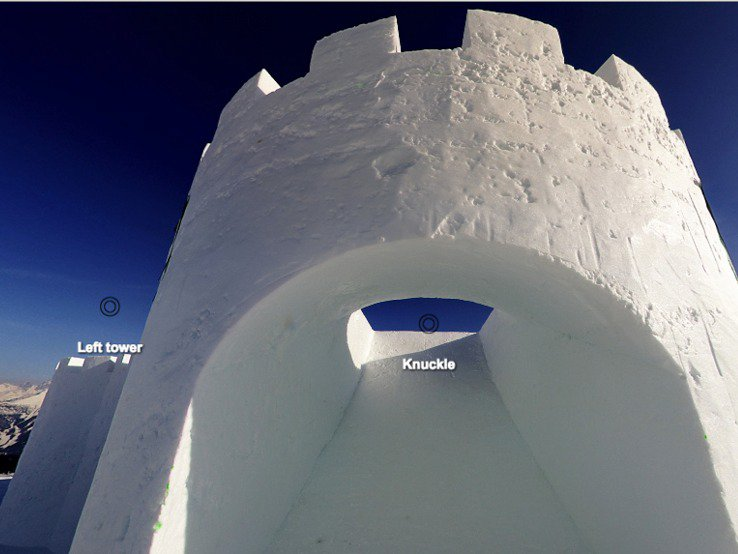 Virtual tour of the Suzuki Nine Knights 2016 chateau