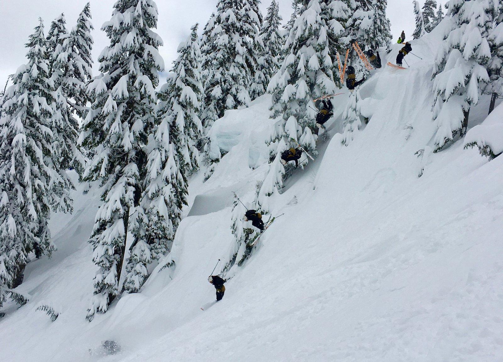 Backie at Alpental