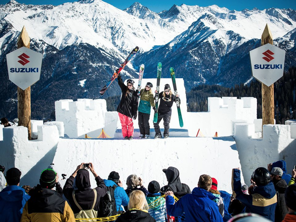 Giulia Tanno wins Big Air at Suzuki Nine Queens 2016