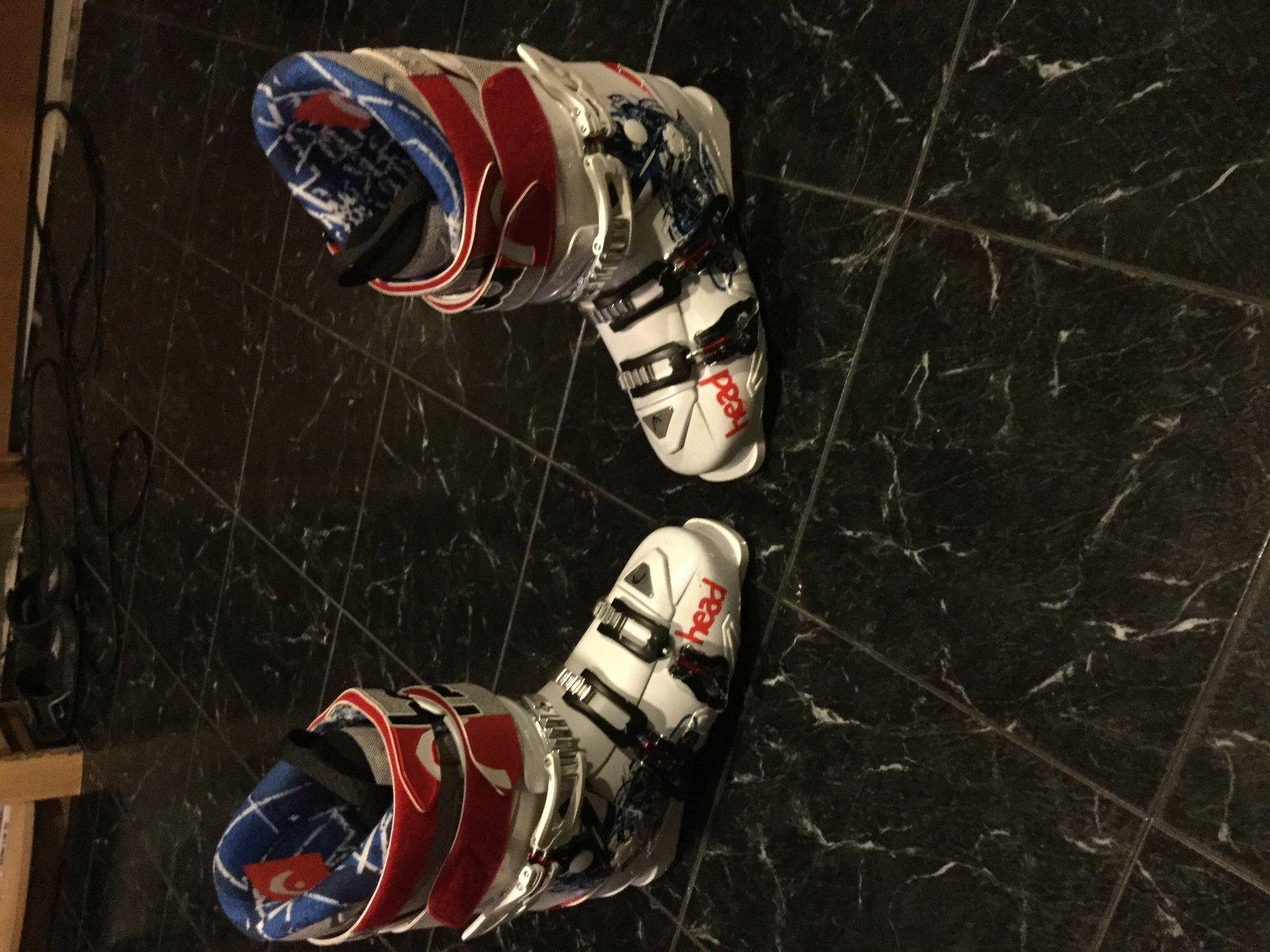 Head ski boots size 27.5