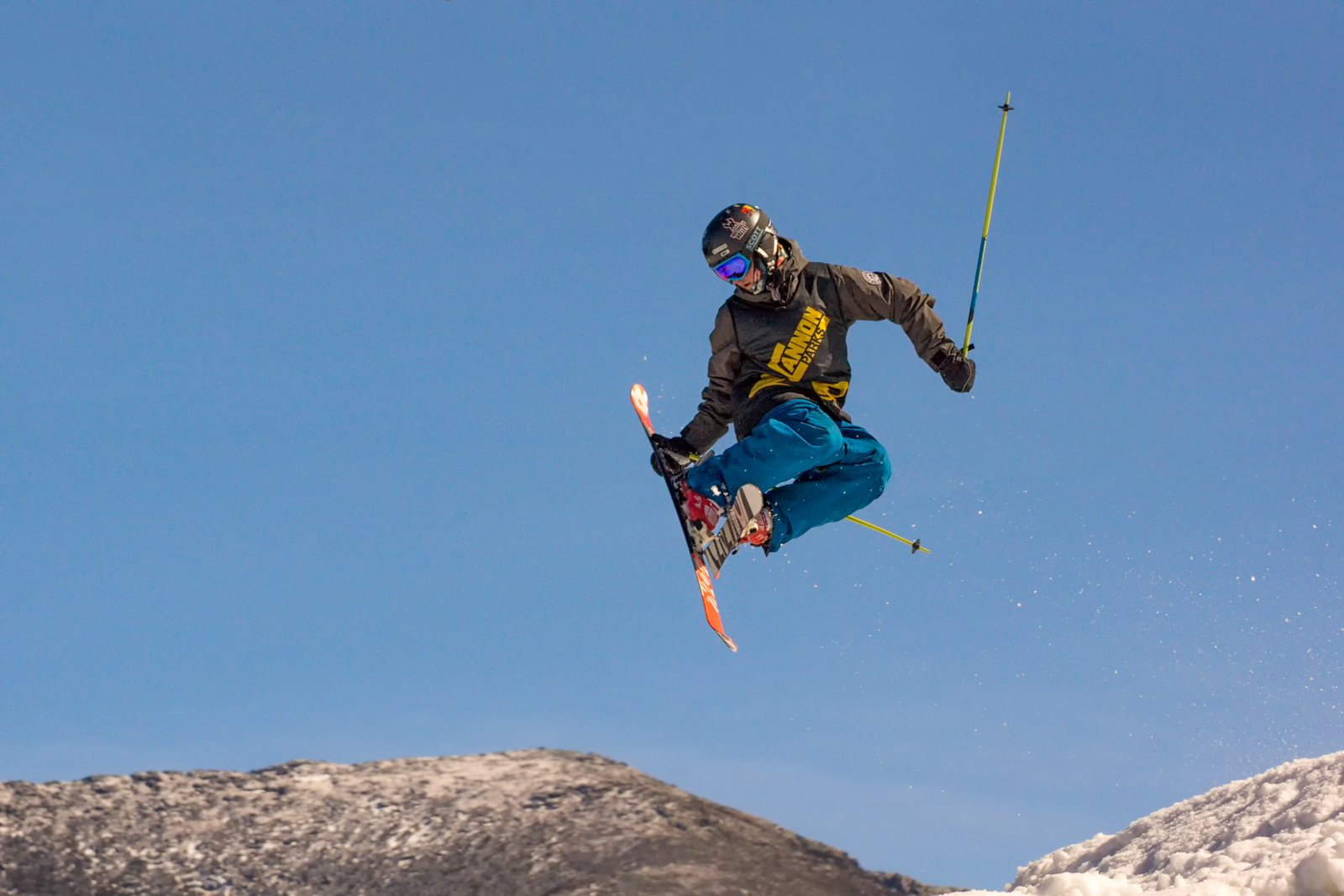 Tail Grab over Mt Lafayette