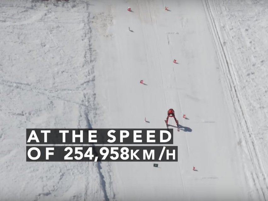 Speed Skiing World Record Broken