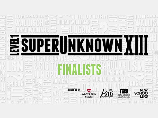 SuperUnknown XIII Finalists