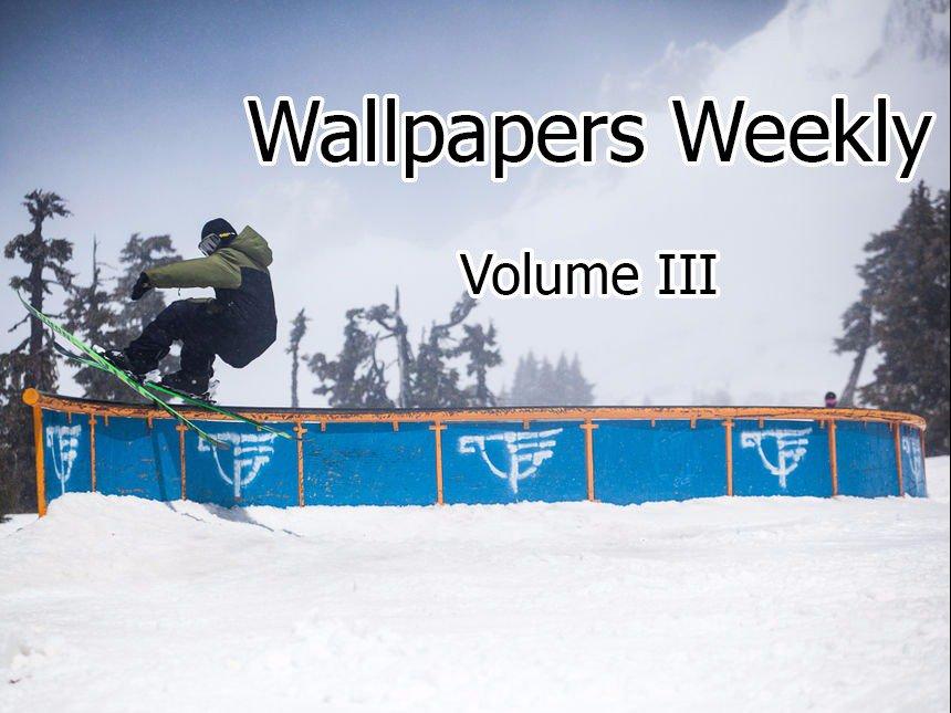 Wallpapers Weekly - Volume 3