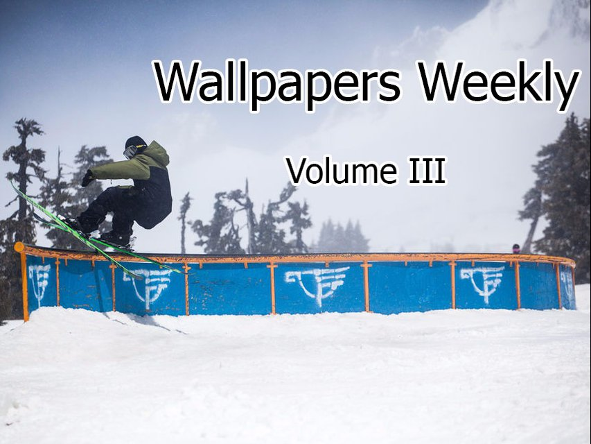 Wallpapers Weekly - Volume 3