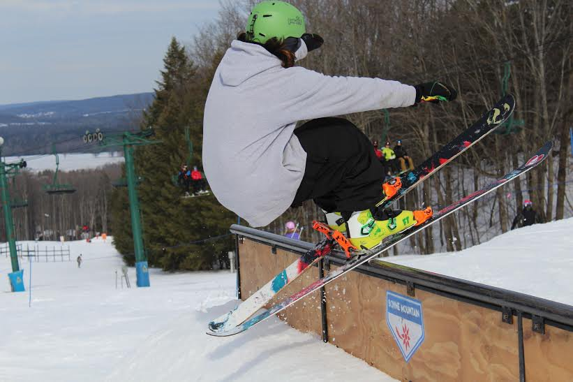 Jesse shredding Boyne