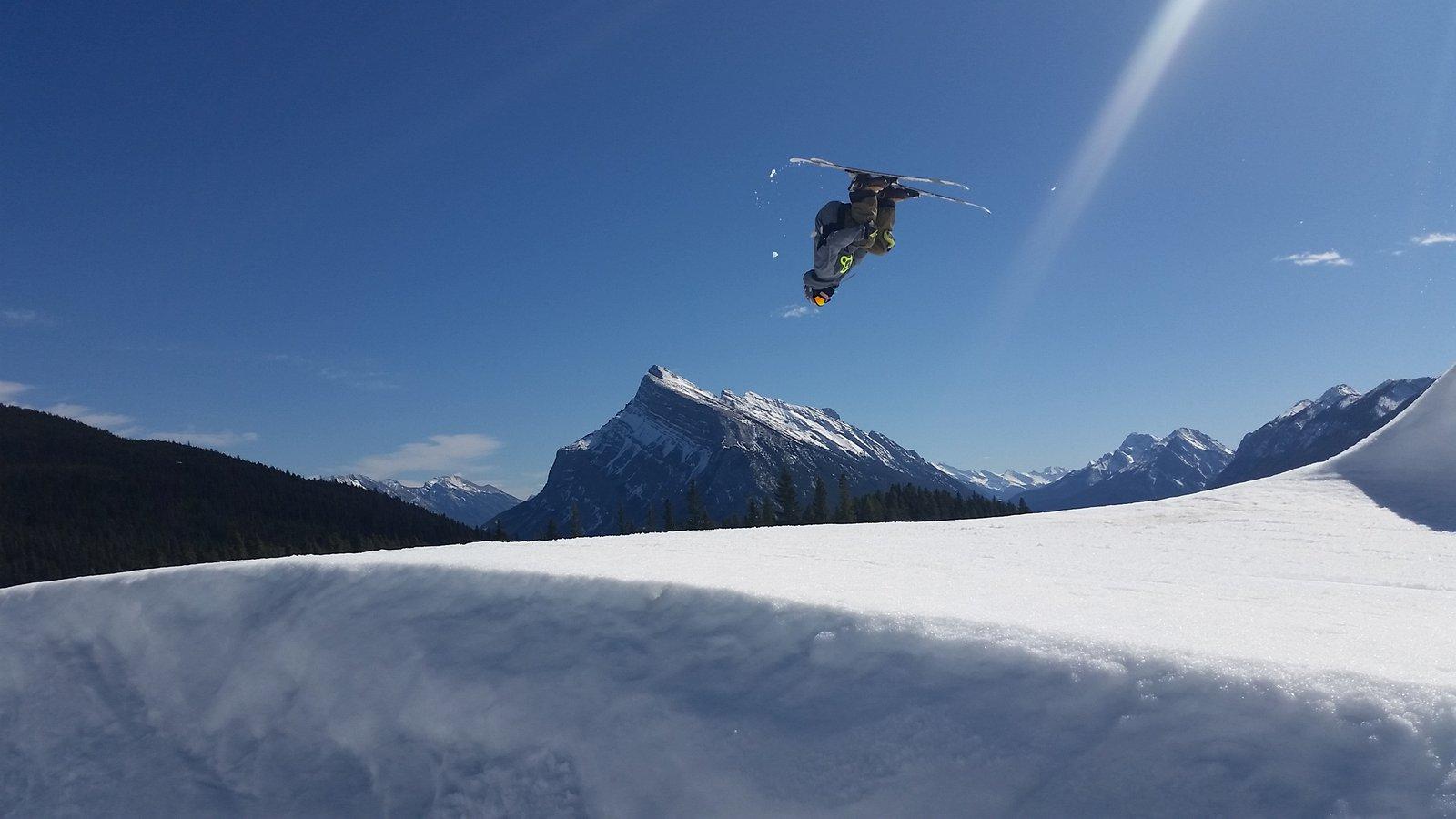 Backflip over Rundle