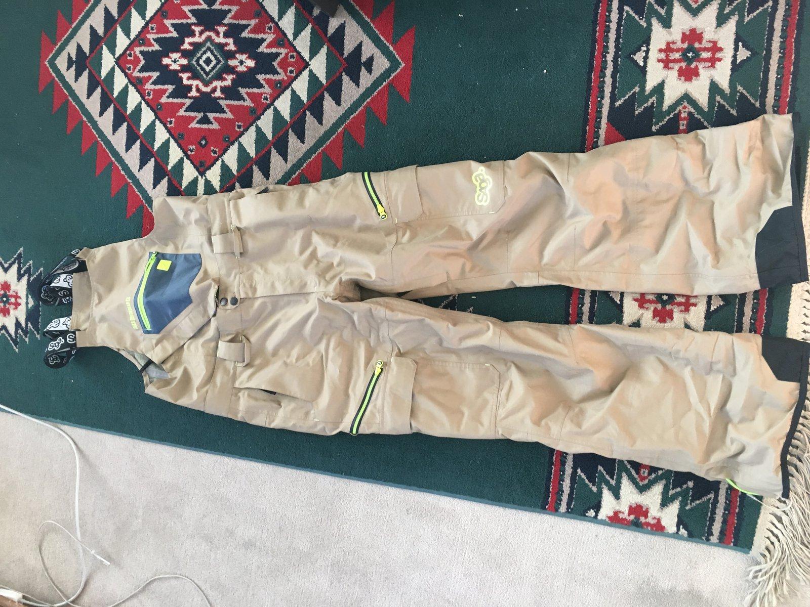 Saga 3L Monarch Pants-Khaki-Large