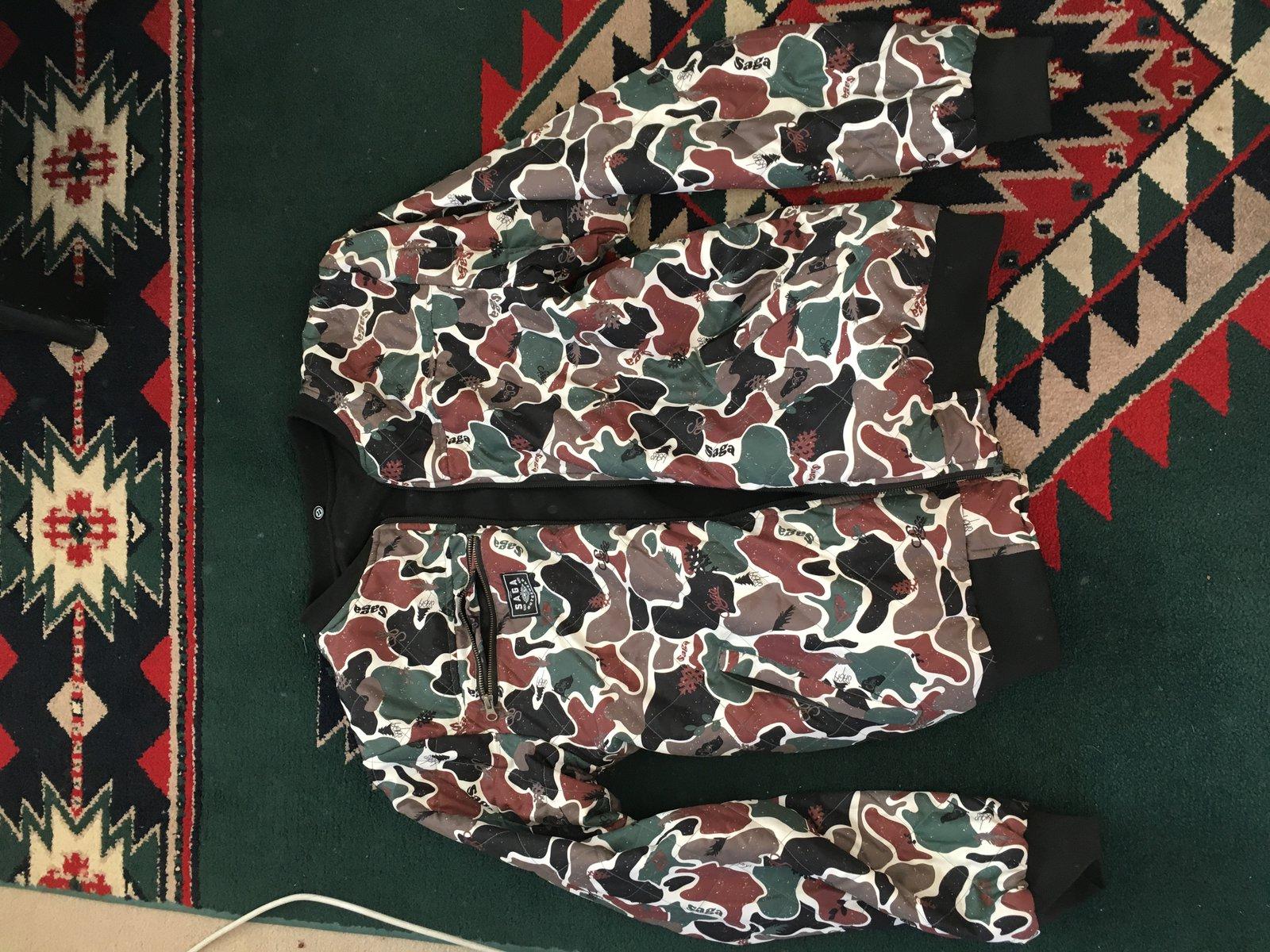 Saga Insulated Reversible Jacket