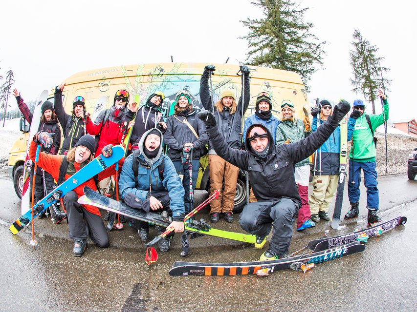 Line Skis Spring Break 2016