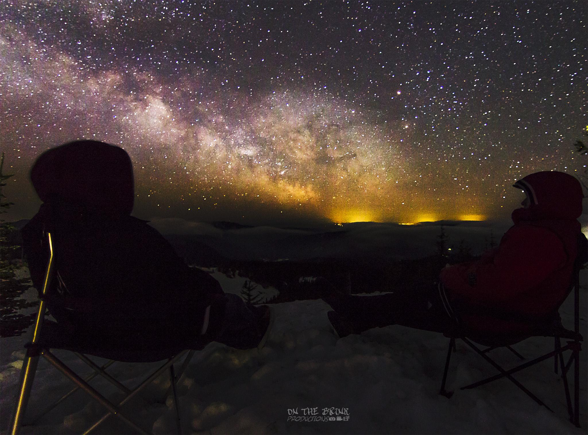 Soaking in the MilkyWay