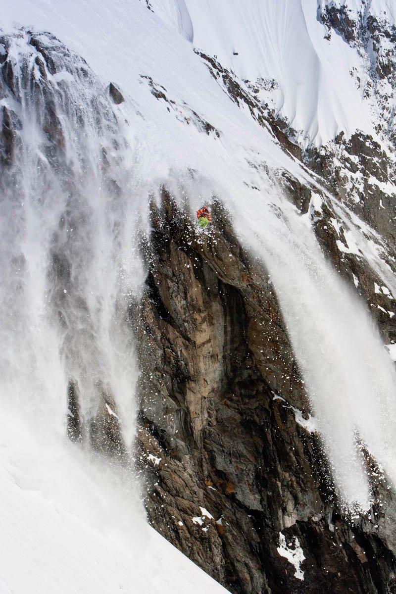 Big Sluffy Cliff