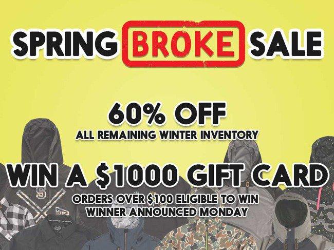 Win A $1,000 Shopping Spree!