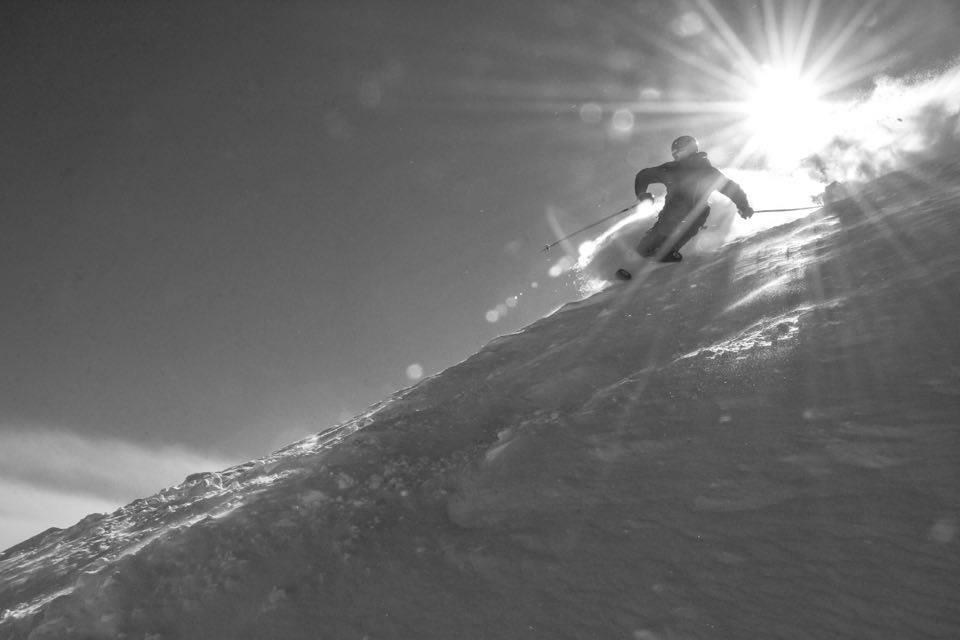 Sun on the ridge